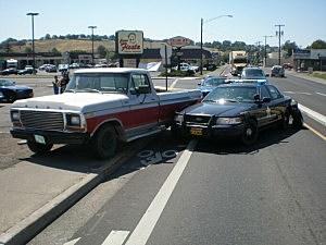 Pendleton police apprehend chase suspect