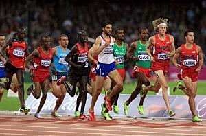 Olympic runner kicked out for not trying