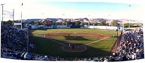 County Stadium - Home Of Yakima Bears