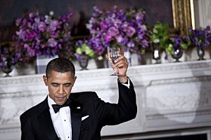 Obama parties with Jay-Z- Beyonce
