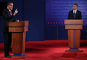 Romney and Obama set to debate Tuesday