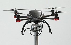 A drone like this one was shot down by Pennsylvania hunters