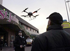 Could drones be used for news gathering in the future?
