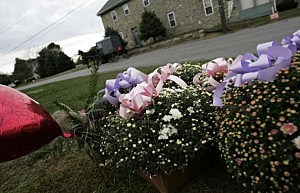 Amish funeral for murdered school girls in Pennsylvania