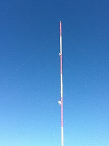 Our signal heard in Finland!  The Newstalk 870 tower