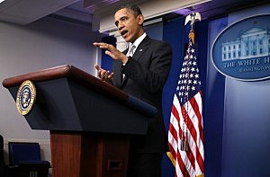 Obama says he goes skeet shooting at Camp David?