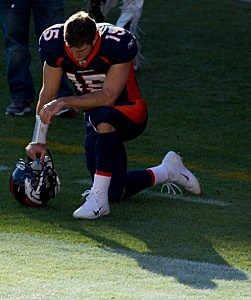 Does new CBS ad mock Tebow?