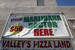 Where will pot stores be located?