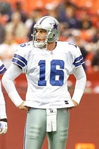 Ryan Leaf with Cowboys 2001