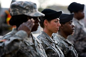 Combat ban lifted for women in U.S. military