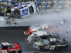 Daytona Crash Saturday