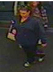 Suspect wanted in credit card theft and use
