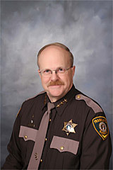 Franklin County Sheriff Richard Lathim
