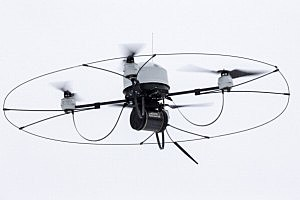 Something similar to this UAV was seen over skies of Columbia Basin today