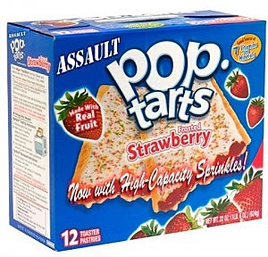 Watch out for those deadly Pop-Tarts! They'll getcha!