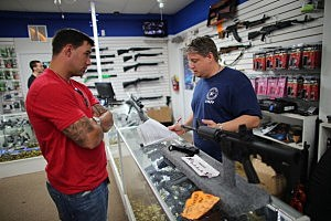 How would state possibly enforce private gun sale backround checks?