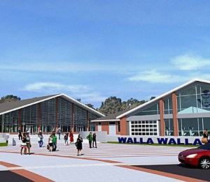 Proposed rendition of renovated Wa-Hi
