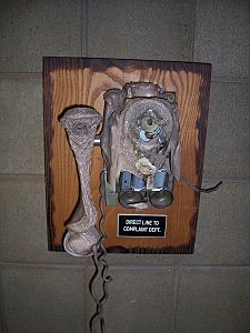Melted phone in Selah Police Department