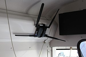 Prosser school bus outfitted with WiFi