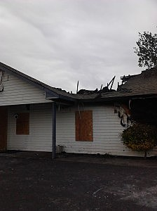 Damage to eye clinic in Kennewick