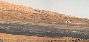 NASA's Curiosity Rover Images Of Mars