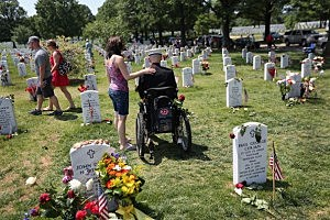 Memorial Day Observed At Arlington National Cemetery