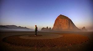Oregon coast at sunrise