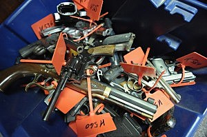 Seattle to melt down guns from buyback program