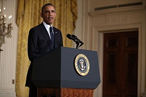 Obama Delivers Statement On IRS Controversy At White House