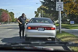 Authorities looking for drunk drivers