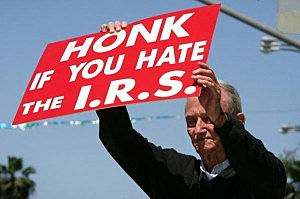 TEA Party IRS Protest coming to Tri-Cities