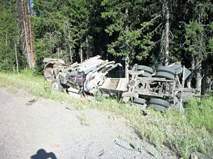 Fatal Crash near Tollgate in Umatilla County