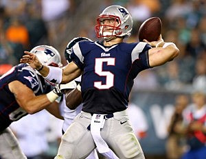 Tebow not being utilized much by Patriots