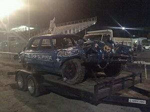 The Newstalk 870 car after 2011 derby at Benton Franklin Fair