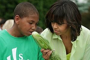 Rap album part of Obama's food crusade