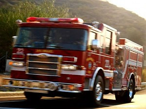 Dog reportedly alerts home owner about fire