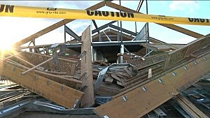 New Pasco elementary school damaged by winds
