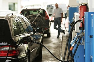 How much of the price of a gallon of gas goes to the government?