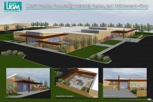 TCUGM building plans