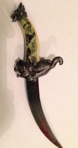 knife B