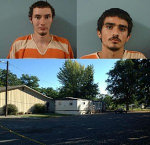 Murder suspects Matlack and Gonzalez