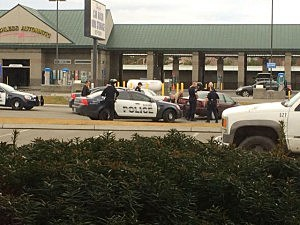 Police apprehend subject from car chase