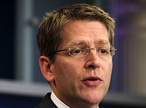 Jay Carney Briefs The Media At The White House