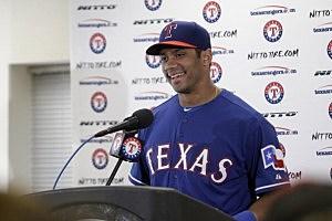 Russell Wilson-Texas Rangers
