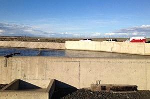 Fatal crash site near Coulee City
