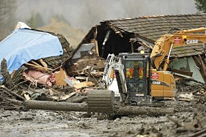 Search for victim's bodies ends at Oso slide