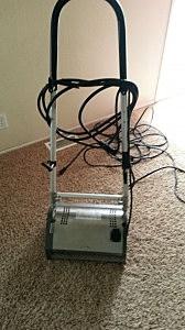 The Zerorez hair removal and nap machine