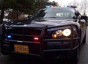 Oregon State Patrol uses spike strips to stop speeding driver