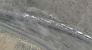 Interstate 90 crash near Vantage
