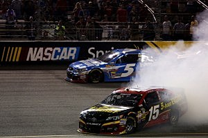 5-Hour Energy driver Clint Boyer spins out at Richmond